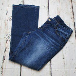 Ann Taylor LOFT Petites Curvy Bootcut Jeans